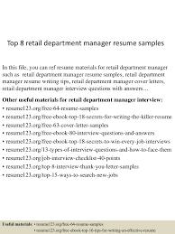 topretaildepartmentmanagerresumesamples lva app thumbnail jpg cb