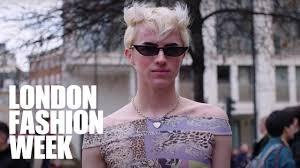 LFW February <b>2020</b> | Day One Street <b>Style</b> Highlights - YouTube
