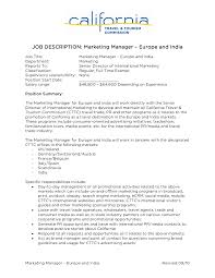 facility manager job description rex blair new jackson township  job descriptions for marketing manager template facility manager job description