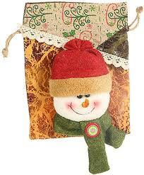 Miklan Christmas Decoration Cartoon Apple Bag ... - Amazon.com