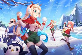 Winter Zoe, Annie, <b>Snow Day Bard &</b> Ambitious Elf Jinx | Wallpapers ...