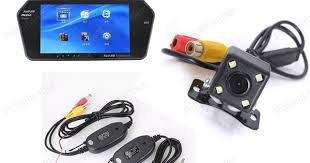"""Hot sale Two video inputs connect to 7"""" TFT bluetooth Car Monitor ..."""