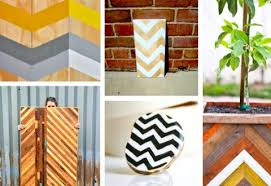 the trend for graphic chevron is still going strong hacky diy adaptations are all over the web covering anything everything from painted rugs to chevron painted furniture