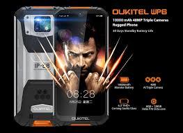<b>OUKITEL WP6</b> Ip68 Rugged Waterproof <b>Smartphone</b> MT6771T Octa ...