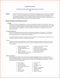 job contract template info 818522 employment contract form doc818522 employment