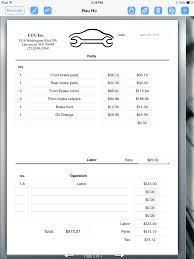 auto repair invoice auto repair service uses ipad for creating an auto repair invoice auto repair service uses ipad for creating an invoice form 1536 x 2048