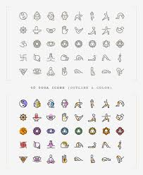 freebie yoga icons ai svg png more basic icons flat icons 1000
