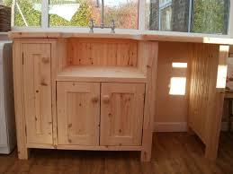 free standing kitchen sink units