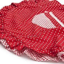 <b>Фартук Polka Dot</b> ярко-красный А12050 RedRobin, цена 9090 Тг ...
