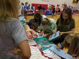middle school students focus on future career fair hampton cove career day image 2