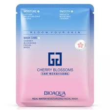 <b>BIOAQUA Cherry Blossoms</b> Sakura Facial Mask [sheet mask] | Lazada