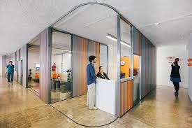 likearchitects makes kinematix office adaptable with sliding garage doors architects sliding door office