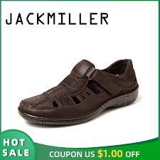 Jackmiller <b>men sandals summer breathable</b> comfortable super Light ...