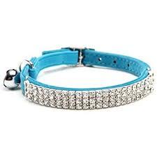 Buy BINGPET Adjustable <b>Cat</b> Collar <b>Soft</b> Velvet <b>Safe</b> Collars Bling ...