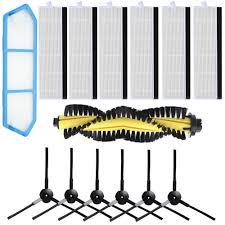 <b>Roller Main Brush</b> HEPA Filter Sponge <b>Side</b> Brushes for kitfort KT ...