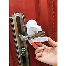 Amazon.com : G&S 2-Pack <b>Door Lever Lock</b> Child Proof <b>Doors</b> ...