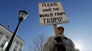 psychology shows the women s in dc is an essential way to davina foti of exeter n h attends a protest against president elect donald