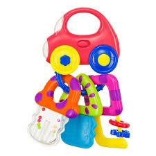 <b>Музыкальный брелок</b>-погремушка Happy <b>Baby BABY CAR</b> KEYS ...