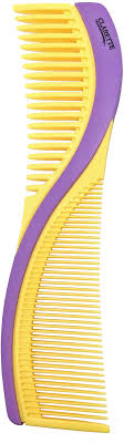 <b>Clarette Расческа для волос</b> двухсторонняя. CPB 723, цвет желтый