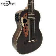 <b>SevenAngel 23 inch Concert</b> Electric Acoustic Ukulele Grape Sound ...