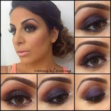 dark blue make up