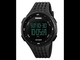 <b>Men's</b> Sports <b>Watch</b> Military <b>50M Waterproof</b> Digital LED - YouTube