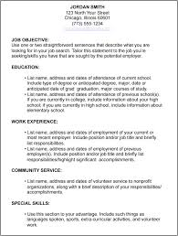 resume examples  resume objective examples for high school    gallery of resume objective examples for high school students