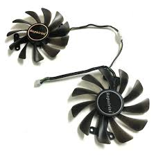 Online Shop <b>2pcs</b>/set Geforce GTX 1050/1050TI GPU <b>Cooler</b> Fan ...