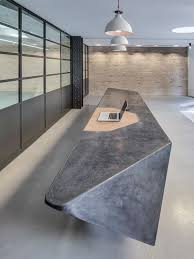 cast concrete reception desk google search bridge reception counter office line
