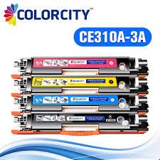 <b>1set compatible</b> toner cartridge CE310A CE313A for HP color ...