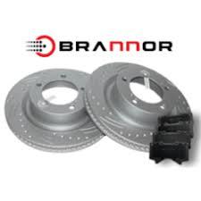 <b>Комплект передних тормозных</b> дисков и колодок Brannor для ...