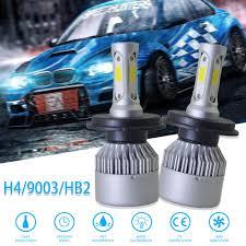 <b>CREE COB H4 HB2</b> 9003 2000W 300000LM LED Headlights Kits Hi ...