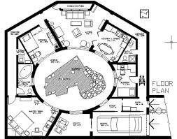 Earth Sheltered Atrium Home PlanEarth Sheltered Atrium Home