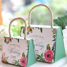 20pcs/lot Butterfly <b>Flower Candy Boxes</b> Wedding Favors Portable ...