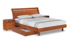 emily bedroom set light oak: pic  emily  lg pic  bed emily queen bedroom designstrategist co