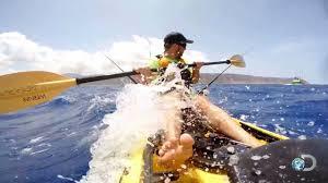 Getting a Dangerous Taste of Hawaiian Kayak <b>Fishing</b> - YouTube