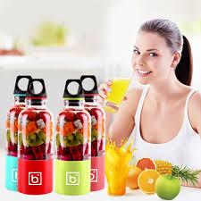400ml <b>Portable Fruit Juicer Electric Mini Juicer</b> Machine USB ...