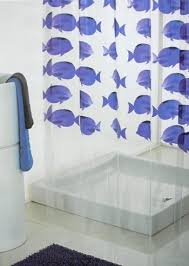 shower radio review guide x: tropical fish shower curtain blue photoprint design transparent good weight clear vinyl suitable for use with a power shower  x cm x approx standard