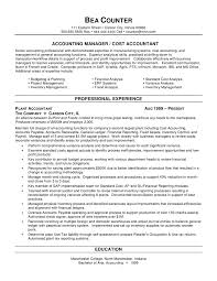 accounting resume summary finance resume example emphasis ...