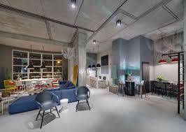 Industrial <b>Living Room</b> and <b>Creative Home</b> Office Design - RooHome