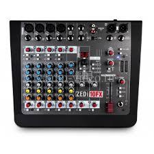 ZEDi10FX ALLEN & HEATH <b>Аналоговый микшерный пульт</b> с USB