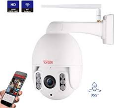 【Two-Way Audio】Tonton Full <b>HD 1080P PTZ</b> IP Dome Camera ...