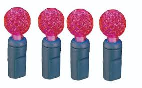 gkibethlehem lighting flexchange indooroutdoor faceted berry shaped mini led christmas light set red buy gki bethlehem lighting