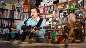 Video: Watch <b>Harry Styles</b> Play The Tiny Desk : NPR
