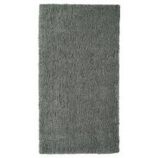 LINDKNUD <b>Rug</b>, high pile, dark grey, <b>80x150 cm</b> - IKEA