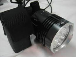 Sky Ray with 6 Cree XM-L T6 <b>LED 6000 Lumen Bike</b> Light: Amazon ...