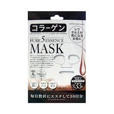 <b>Japan Gals Pure</b> 5 Essence Facial Mask Collagen CO 30 Sheets ...