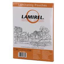 Купить <b>Плёнка для ламинирования Lamirel</b> А4 75мкм (CRC78656 ...