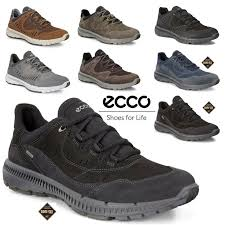 <b>ECCO TERRAWALK</b> GTX M / W Oil Nubuck Leather Sports Shoes ...