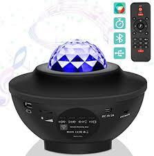 USB LED Star Night Light Music Starry Water Wave ... - Amazon.com